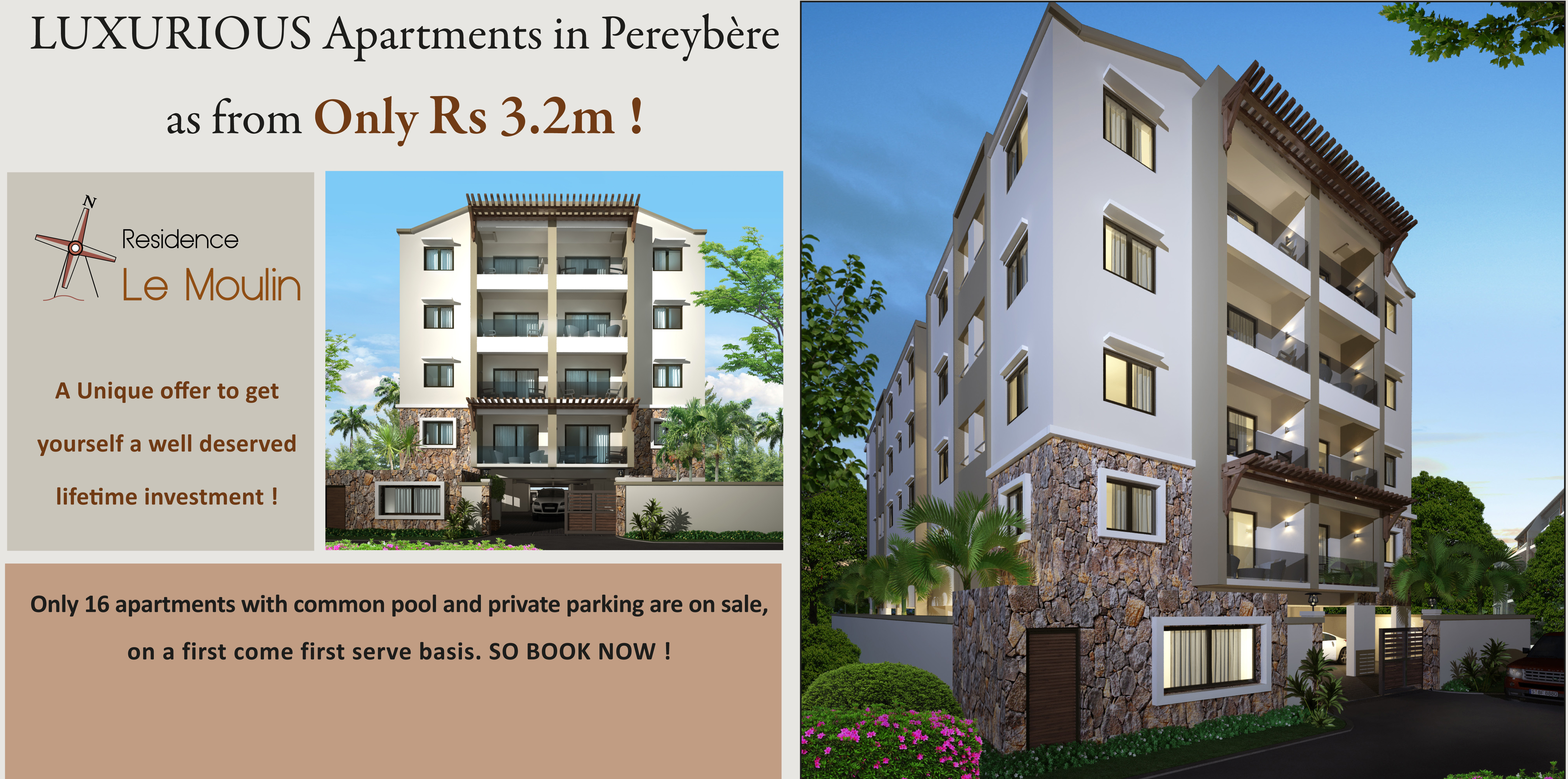 Properties For Sale In Pereybere Mauritius